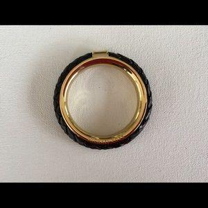 Michael Kors Leather Bangle Bracelet